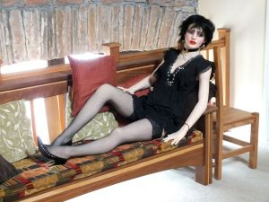 Siouxsie Sioux life-size doll