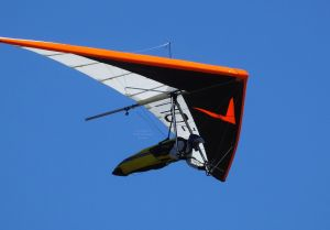 Avian Rio 2 hang glider  in flight
