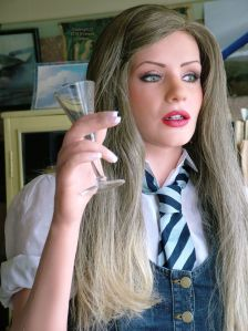 Anoushka Anatomical Doll portraying Anoushka in the 2007 movie St. Trinian's