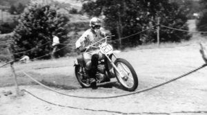 Brian Wood riding moto cross