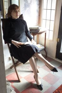 June Knighthorse artificial girl and her books