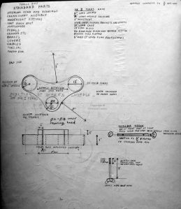 Early 1970s trials cycle parts design by Everard Cunion