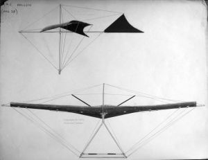 My V-tail mono-wing hang glider