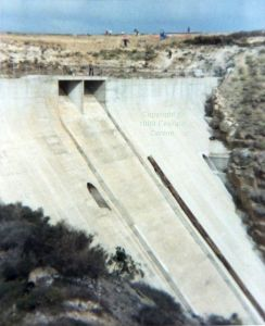Mala dam in January or February 1989