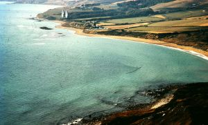 Ringstead Bay in about 1970