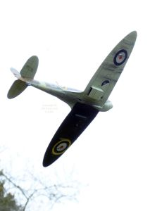The Tamiya Spitfire Mk.1 includes decals for this dramatic colour scheme
