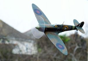 Tamiya 1/48th scale Spitfire Mk.1 after repaint