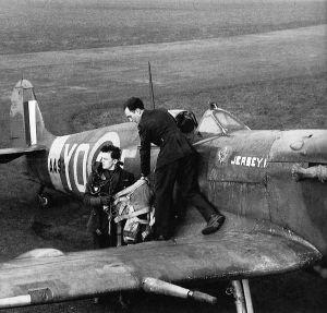 Spitfire Vb AA926 YO-E