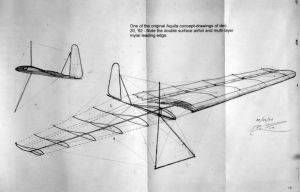 Aquila drawings by Bob Rouse