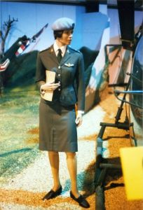 Mannequin at army aviation museum, Middle Wallop, Hampshire, England, in 1997