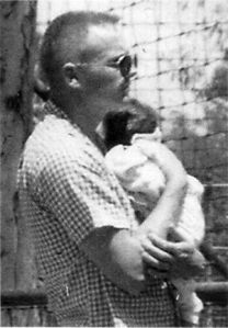 Neil Armstrong and Muffie in 1959