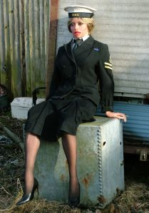 Caroline Realdoll in WRNS uniform, 2010