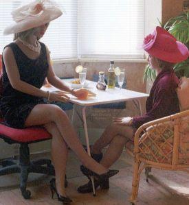 Caroline and Rebecca Realdolls in 2004