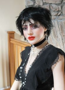 Faina Anatomical Doll made up to resemble Siouxsie Sioux