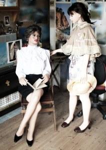 Joanna and Meotzi life size dolls