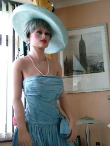 Realdoll in blue outfit