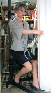 Realdoll hiding in a cupboard