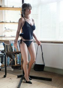Scantily clad Realdoll