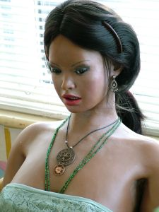 Lina Realdoll on her original body in 2010