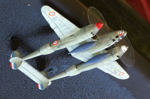 RS Models 1/72nd scale Lockheed F5A Lightning