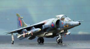Airfix 1/72 scale Harrier GR3
