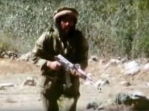 Mujaheddin soldier