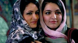 Two Iranian women by Roberto Fumagalli,