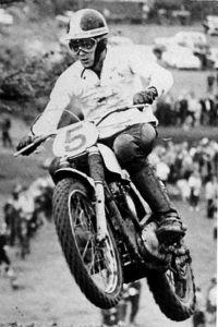 Ken Messenger, South West Motocross champion, 1962