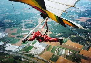 Flying an Airwave Magic 4 in France, 1994