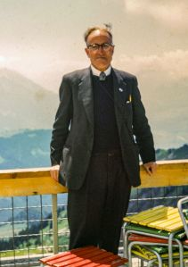 Cecil Cunion in Europe, 1963