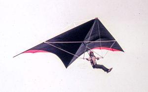 Experimental hang glider 1976
