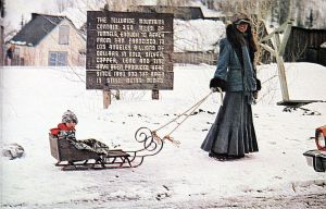 Art based on a photo by David Stanfield at Telluride in 1975