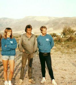 Rona, John, and Tony in early 1992