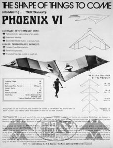 Art based on the Bennett Phoenix VI advert in Ground Skimmer, November 1975