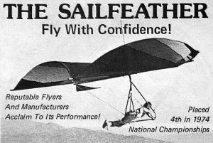 Art based on the sailfeather advert in Ground Skimmer