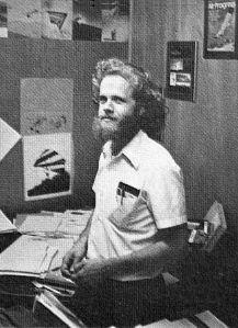 W.A. 'Bill' Allen in 1974