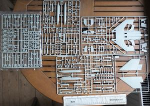 Academy 1/48th USMC F-4B parts trees