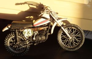 Revell 12th scale Yamaha 250 MX bike right side
