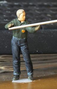 Hasegawa 1/24th scale figure