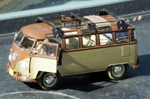 Revell VW Samba bus with added roof bars