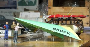 1/24th scale Brock 82 standard Rogall hang glider
