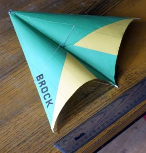1/24th scale Brock 82 standard Rogallo hang glider