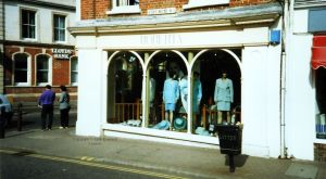 Roberta ladies' clothing store, Church Street, Christchurch, Dorset, England,  in 1996
