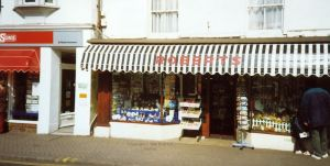 Roberts shop, Church Street, Christchurch, Dorset, England,  in 1996