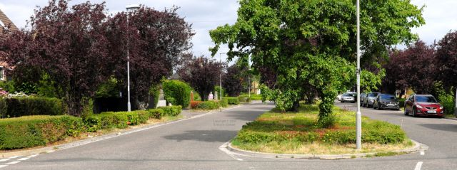 Southey Road, Somerford, Christchurch, Dorset, England, in June 2020