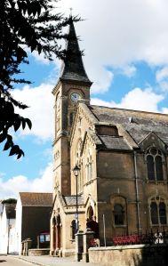 Church in Millhams Street, Christchurch, Dorset