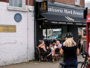 Cafe in the High street, Christchurch, Dorset