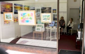 'Picture This' art gallery in August 2020