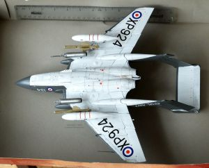Airfix 1/48th scale De Haviland Sea Vixen