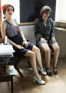 Faina and Rebecca life size dolls in 2019